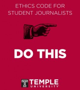 Ethics code Temple