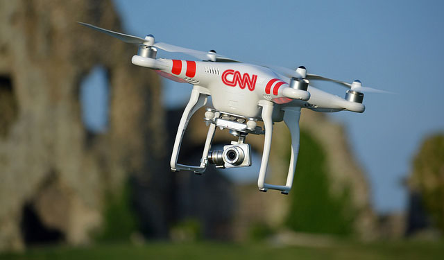 Top three things when flying drones for news