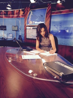 Christina Garcia, WLOX  evening anchor, can be found on Facebook: Christina Garcia WLOX and Twitter: @Wloxgarcia.  Photo by Payton Green.